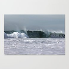 Fast as a Wave Canvas Print
