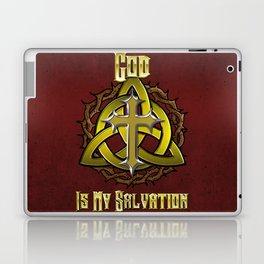 God Is My Salvation Laptop & iPad Skin