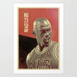 Jordan 23 Art Print
