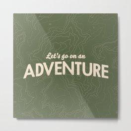 The Adventure Metal Print