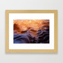 Buckskin Gulch Framed Art Print