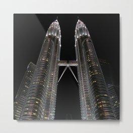 Towers Metal Print