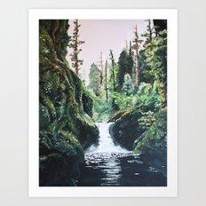 Nymph Forest Art Print