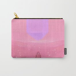 Lost Astronaut Series #03 - Floating Crystal Carry-All Pouch