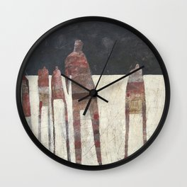 A Day Late Wall Clock