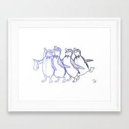 Jolly Holiday Framed Art Print