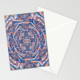 Carnival Fun House Mirror Fractured Stationery Cards
