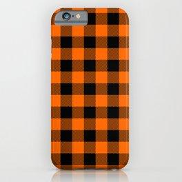 Marmalade Buffalo Check iPhone Case