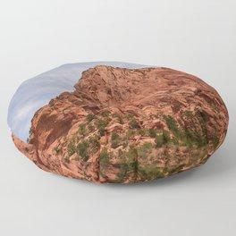Kolob Canyons Zion Floor Pillow