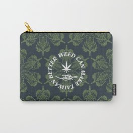 W.C.M.T.B. by Stoned Tiger Carry-All Pouch