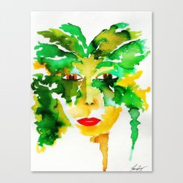 Goddess of the Wood Canvas Print