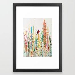toujours le jour se leve Framed Art Print