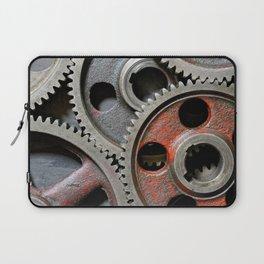 Group of old steel cogwheels Laptop Sleeve