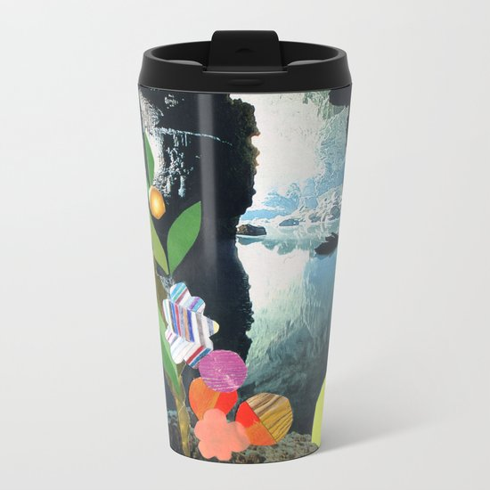Cave Garden IV Metal Travel Mug
