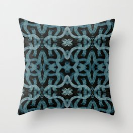 Ghostly Hands Throw Pillow