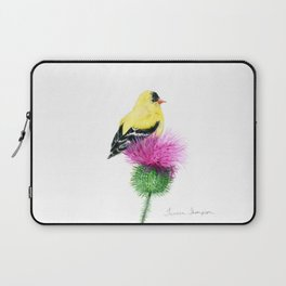 Little Goldfinch by Teresa Thompson Laptop Sleeve