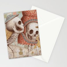 Mexican Skulls 1 Stationery Cards