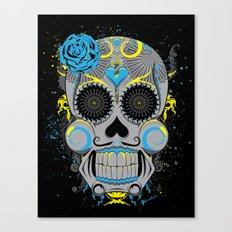 Diabolic Sugar Skull Canvas Print