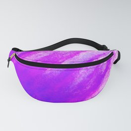 Tidal 8 Purple, Indigo and Pink - Abstract Art Series Fanny Pack