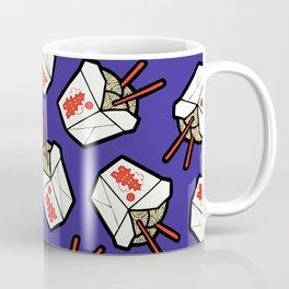 Take-Out Noodles Box Pattern Coffee Mug