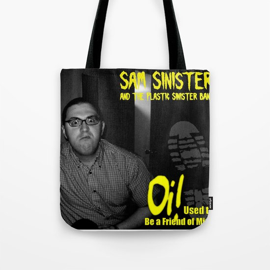 """Oi! Used to Be a Friend of Mine 7"""" (Cover Art) Tote Bag"""