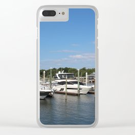 Nautical Dreaming Clear iPhone Case