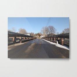 A road to somewhere Metal Print