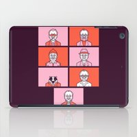 wes anderson iPad Cases featuring Bill x Wes by Spencer Frühling