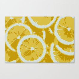 LEMON ZING Canvas Print