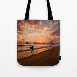 Surf City Sunsets   9/10/15   Huntington Beach California  Tote Bag