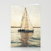 sailing Stationery Cards featuring Sailing by Mary Kilbreath
