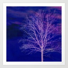 Sparkle Tree Art Print