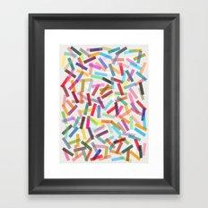 fiesta 1 Framed Art Print