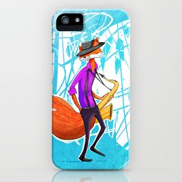 Sly the Fox iPhone Case