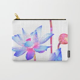 Minimalist Floral Mosaic 2 Carry-All Pouch