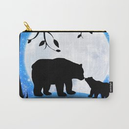 Moon and bears Carry-All Pouch