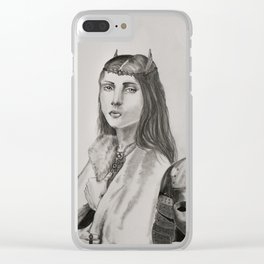 Hereesia of the Varghoss Clear iPhone Case