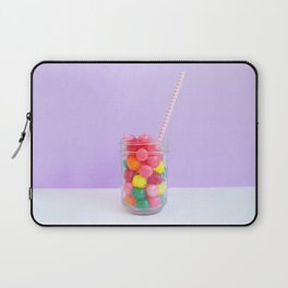 Delicious Sweet Birthday Candy Laptop Sleeve