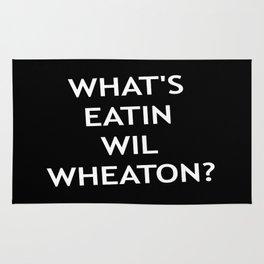 #Whatseatinwilwheaton Rug