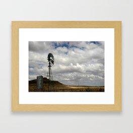 New Mexico High Desert, March 2007 Framed Art Print