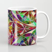 flower of life Mugs featuring Flower of Life variation by Klara Acel