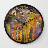 physics Wall Clocks featuring Chaos theory by Bruce Stanfield
