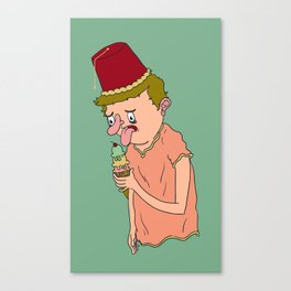 I want a Fez. Canvas Print