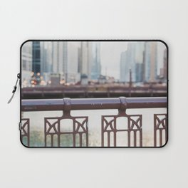 River Walk - Chicago Photography Laptop Sleeve