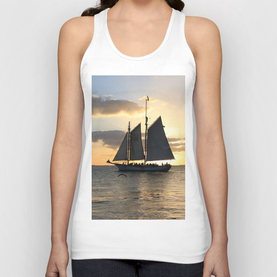 A way to the sun Unisex Tank Top