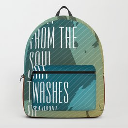 Picasso – Genius Quotes Backpack