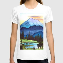 Mount Rainier Lake T-shirt