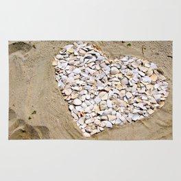 Love on the Beach Rug
