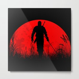 Geralt of Rivia - The Witcher Metal Print