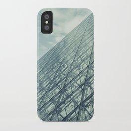 Louvre Pyramid Paris iPhone Case